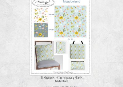 Surface Pattern Florals – Summer Meadow