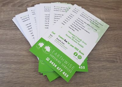 Earthwise DL Flyers Printing